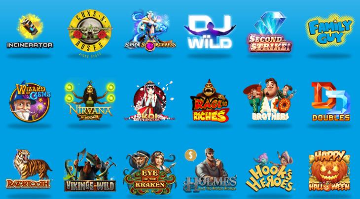 ベラジョンカジノゲーム一覧