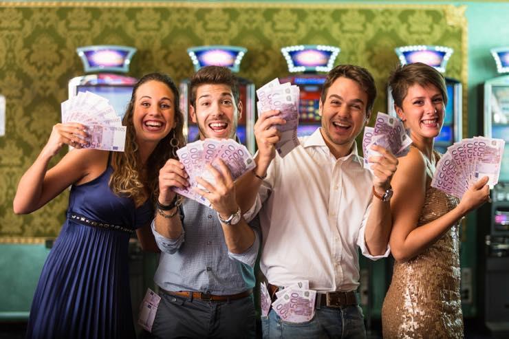 カジノで大勝ち