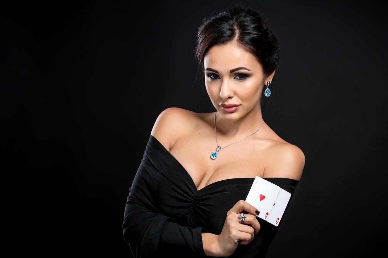 カジノの女性